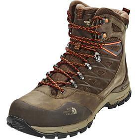 The North Face M's Hedgehog Trek GTX Boots Demitasse Brown/Tibetan Orange